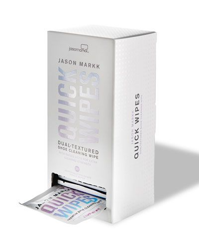A Bright Light For White Shoe Woes: Jason Markk Quick Wipes
