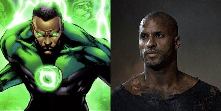 Green Lantern screenwriter Michael Green has revealed his top pick to play John Stewart in a Green Lantern Corps movie: American Gods star Ricky Whittle.
