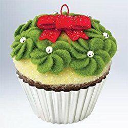 2011 Simply Irresistible Christmas Cupcakes Hallmark Ornament