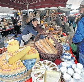 Milk Market, Limerick, Ireland. Runs every Saturday morning. Worth going to see, and don't miss out on the amazing food!