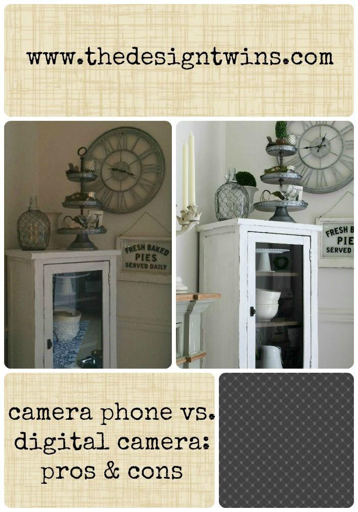 Camera Phone vs. Digital Camera: Pros & Cons - The Design Twins | DIY Home Decor Inspiration Blog