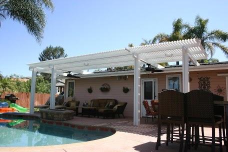 20 best Patio Overhang images on Pinterest   Backyard ... on Backyard Overhang Ideas id=75794