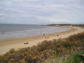 Gullane - Gullane Beach, April 2007 © J Cotterill