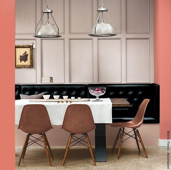 55 best roze interieur roze muren images on pinterest