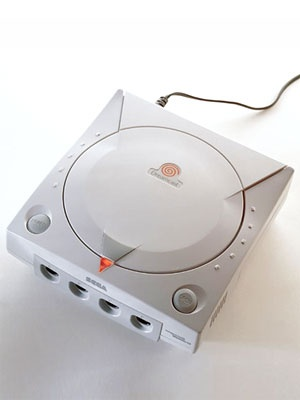 1990s: Sega Dreamcast. My uncle gave me these. My life. #dreamcast