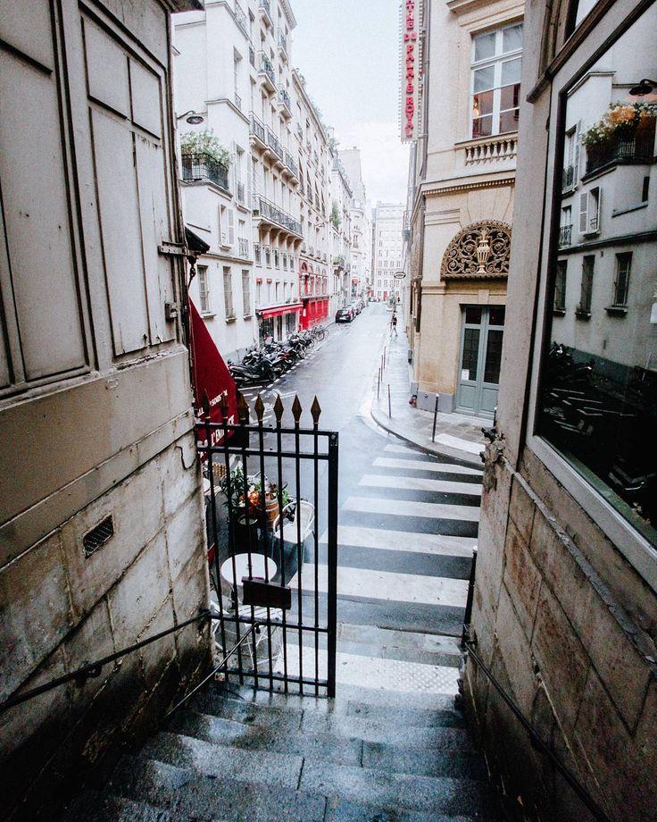 Parisian Alleys.