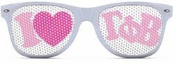 Gamma Phi Beta Wayfarer Style Lens Sunglasses SALE $12.95. - Greek Clothing and Merchandise - Greek Gear®