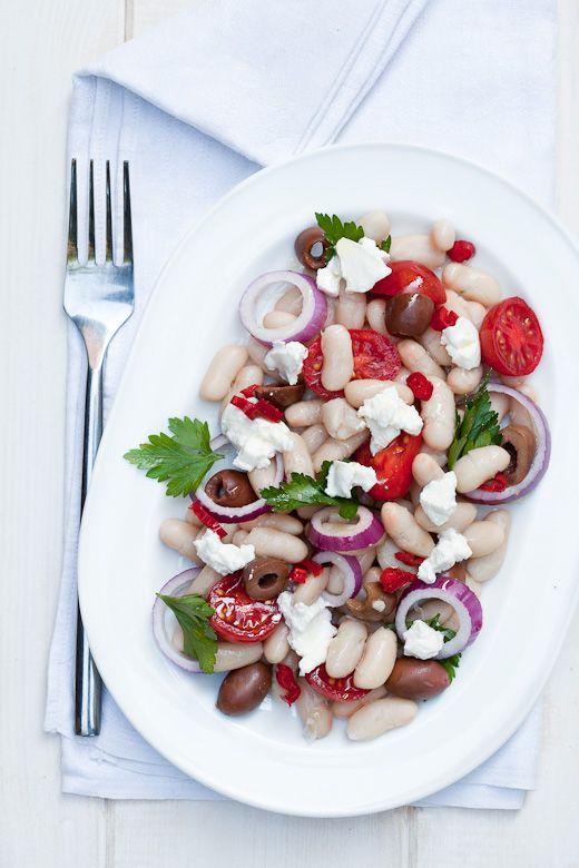 Ricotta and White Bean Salad