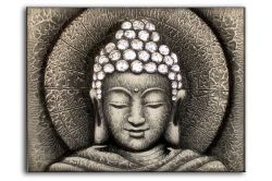 ručně malovaný obraz Buddha 2