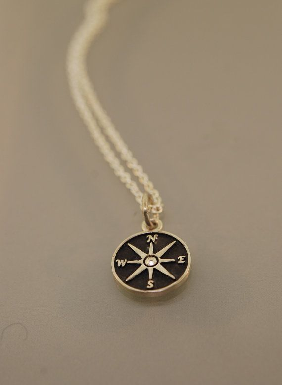 Patina Star Compass Necklace by TeriLeeJewelry on Etsy, $25.00