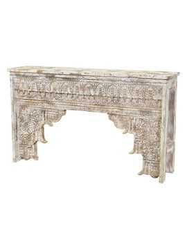 Ariel Antique Console Table from Fashion Lovers Home Furnishings on Gilt