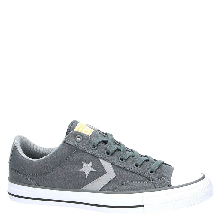 gave Converse Starplayer gympen Grijs