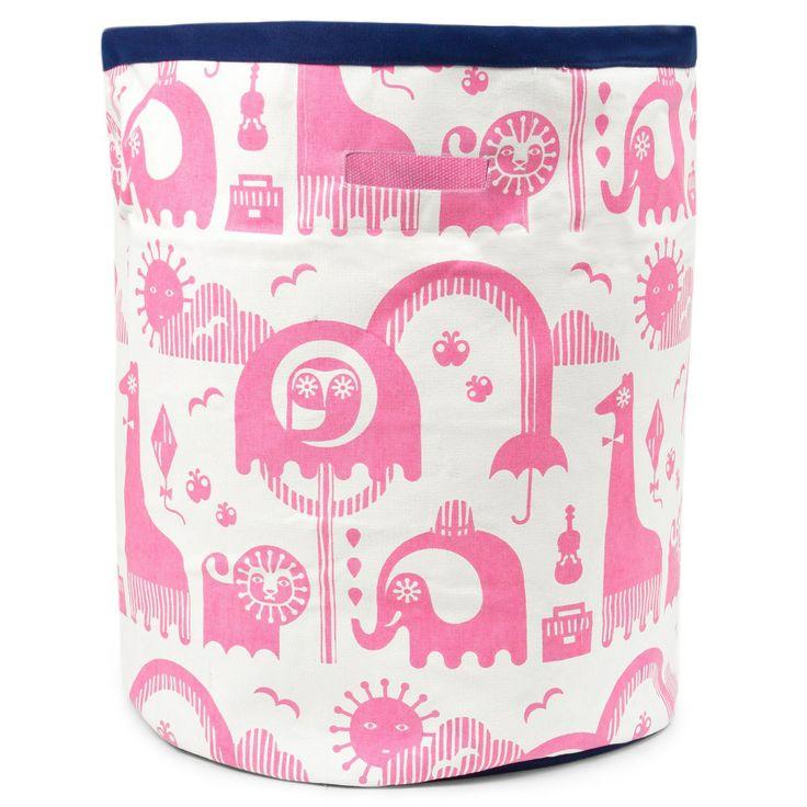 Jonathan Adler Junior Animal Pink Storage Bin Large. #laylagrayce #holidaygiftshop $138.00
