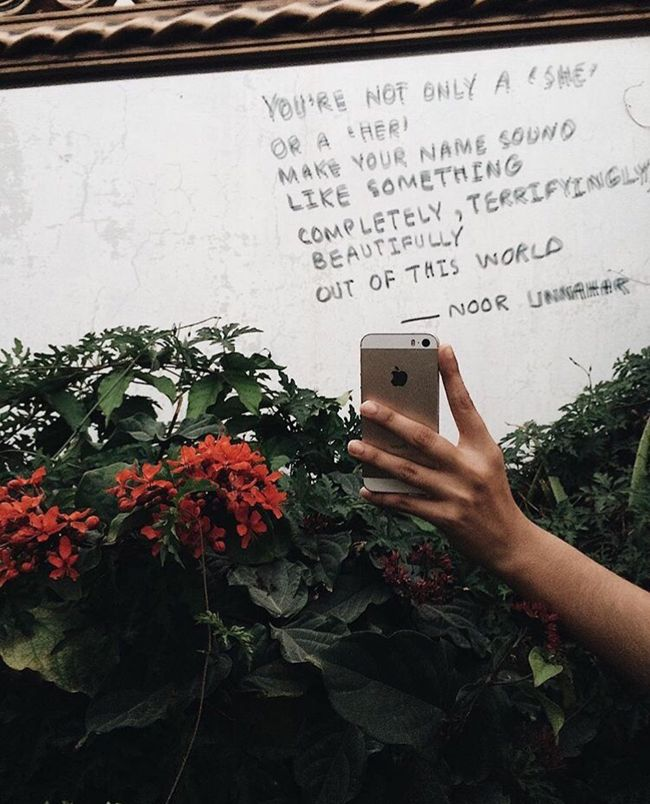 quotes instagram grunge aesthetic self poetry story unexpected noor unnahar words artsy feminist places indie empowerment hipster ft fan quote