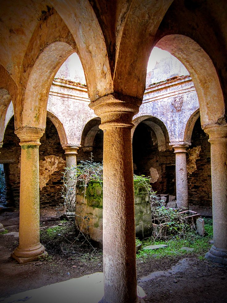 Convento San Isidro de Loriana. #Convento #Convent #ruinas #Ruins #Art #Arte