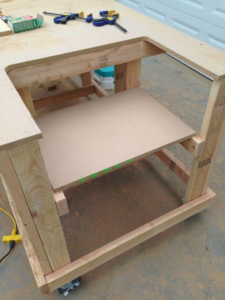 Best 25 garage workbench plans ideas on pinterest for Build your own garage plans free