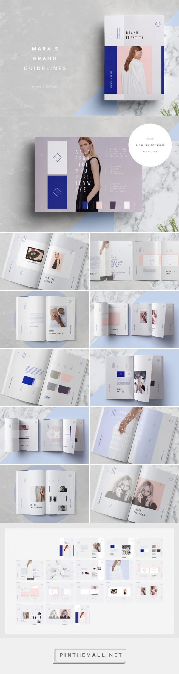 Marais – Adobe InDesign Brand Guidelines Template