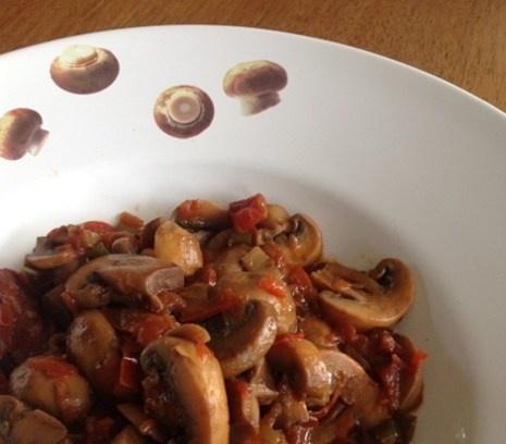 Stoofpot van Champignons | Verwarmend en hartig.  #recept #hollands #vegetarisch #flexitarier
