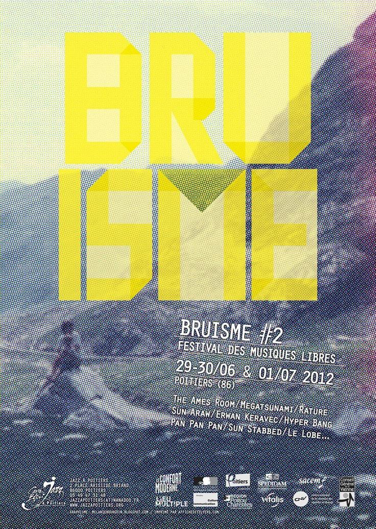 Bruisme 2012, Festival des musiques libres, Poitiers