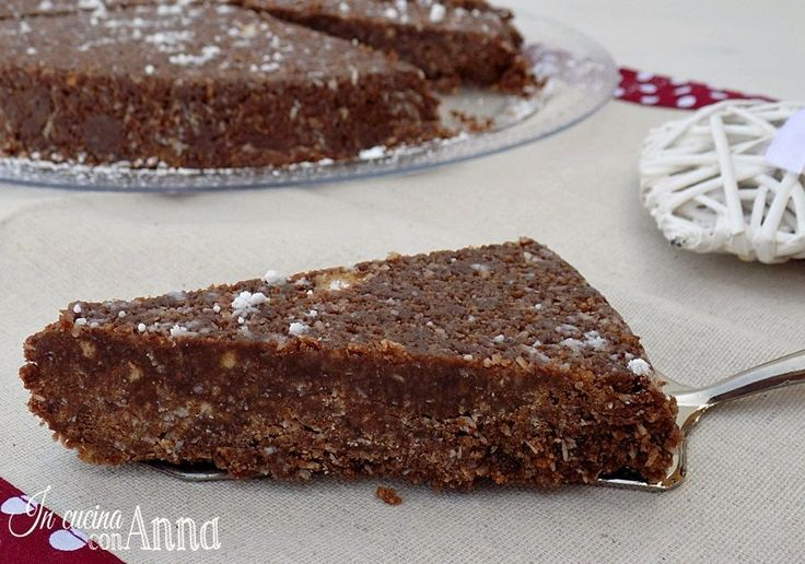 Oggi vi presento una torta di quelle stragolosi e di una semplicità unica la torta tartufina...