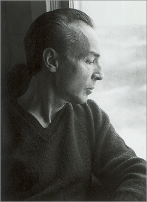 George Balanchine. Photographed by his wife, ballerina Tanaquil Le Clerq.