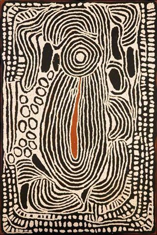 Ningura NAPURRULA -2008-peinture aborigène