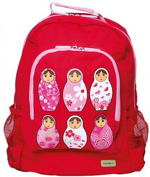 These gorgeous #BobbleArt backpacks are perfect for a day out, pre-school or daycare.... big enough to fit all the necessities a little one needs. #kidsbackpacks #canvasbackpacks