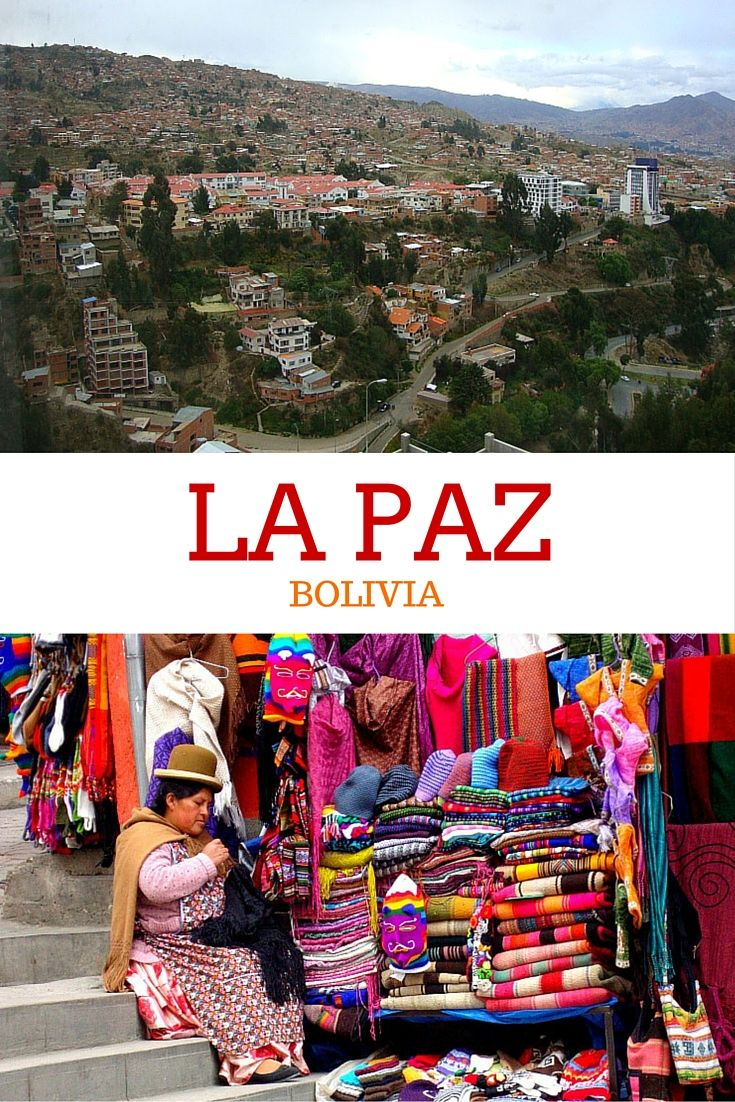A travel guide to the best of the beautiful city of La Paz, Bolivia, including traffic zebras and a Moon Valley!