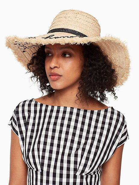 bee my honey sunhat by kate spade new york  fe259fb51af