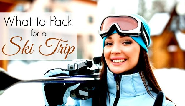 For those of you hitting the slopes for a late winter getaway, we're bringing you some expert travel tips on what to pack for a ski trip.