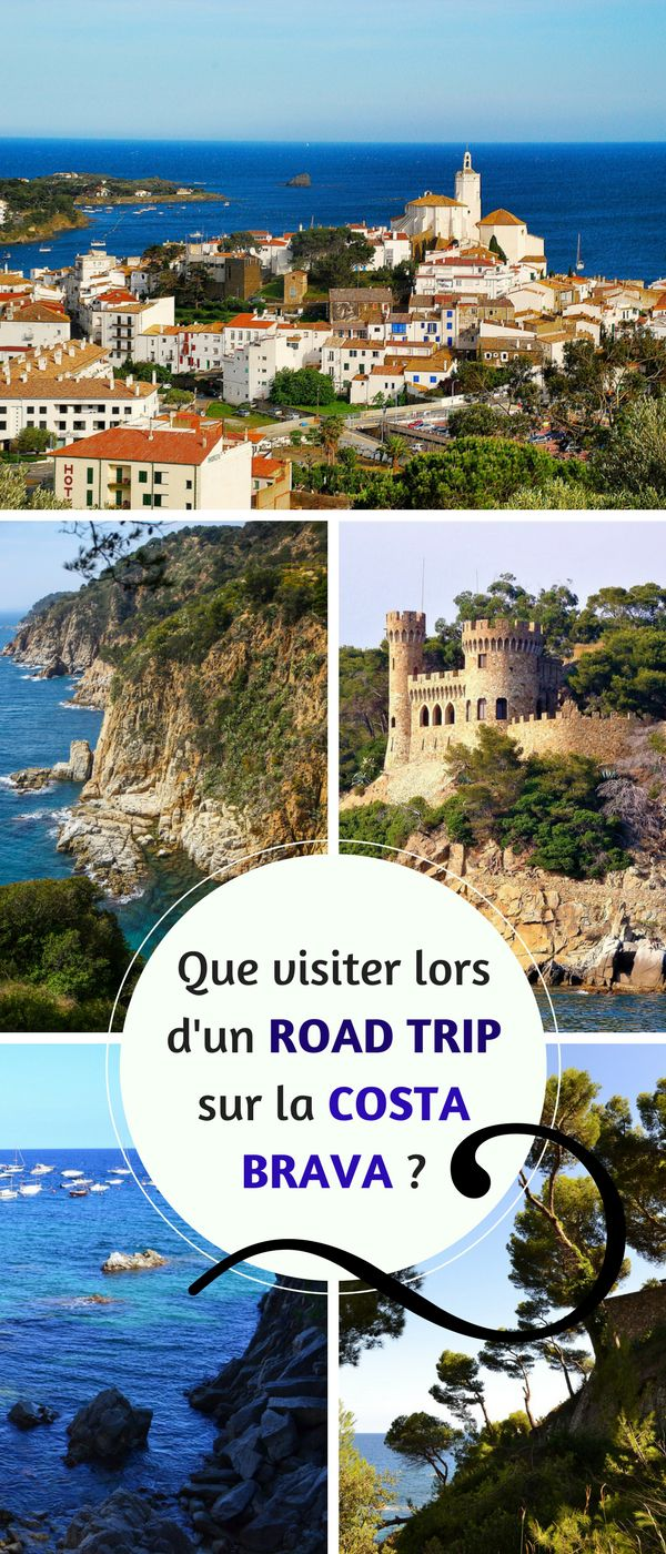 Vous partez en Road Trip sur la COSTA BRAVA ? Que pouvez-vous admirer ? Benjamin vous donne ses bons plans ! #CostaBrava #Catalogne #espagne #voyage