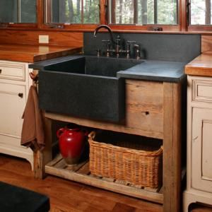 Stand Alone Farmhouse Sink   Rustic Kitchens Paul BradhamKeystone Kitchen  BathAsheville, NC Nothing Says Farmhouse Like A Huge Apron Front Sink That  Stands ...