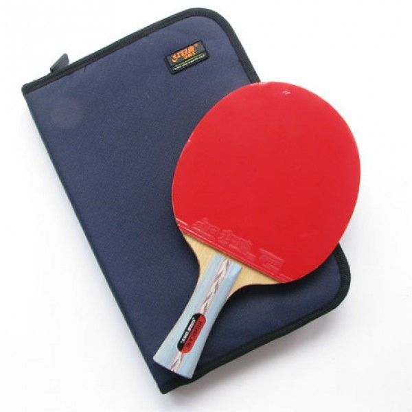 DHS Double Happiness HURRICANE No.2 Ping Pong Paddle Shakehand Table Tennis Racket Set on sale with Free Shipping