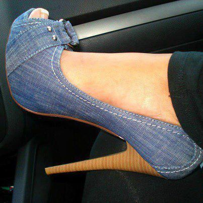 Fashion high #heel shoe