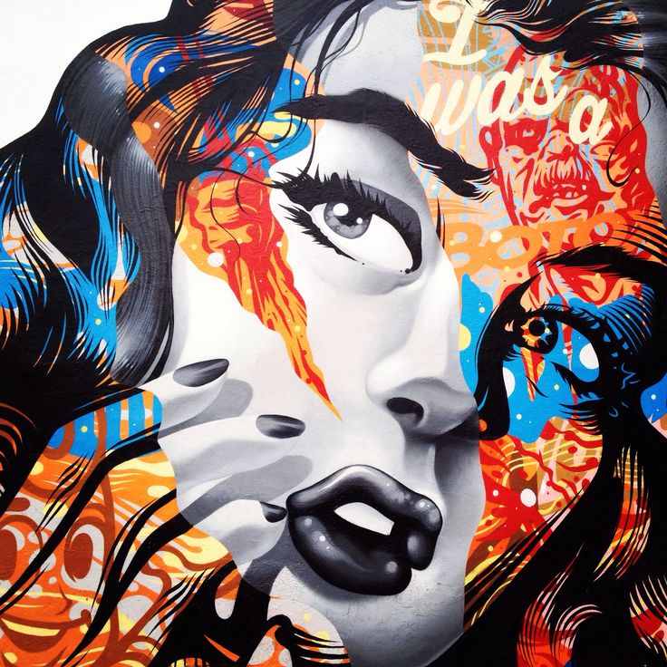 The Art District Mural by Tristan Eaton - Los Angeles, California