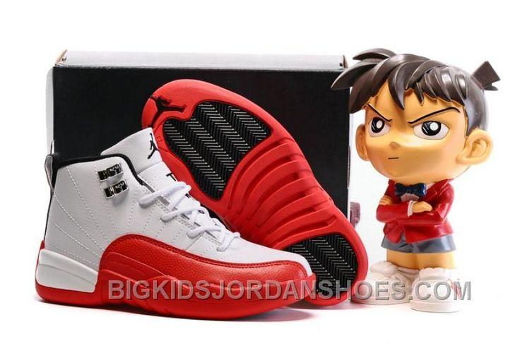 "http://www.bigkidsjordanshoes.com/new-2017-kids-air-jordan-12-cherry-basketball-shoes.html 2017 KIDS AIR JORDAN 12 ""CHERRY"" BASKETBALL SHOES DISCOUNT : $85.00"