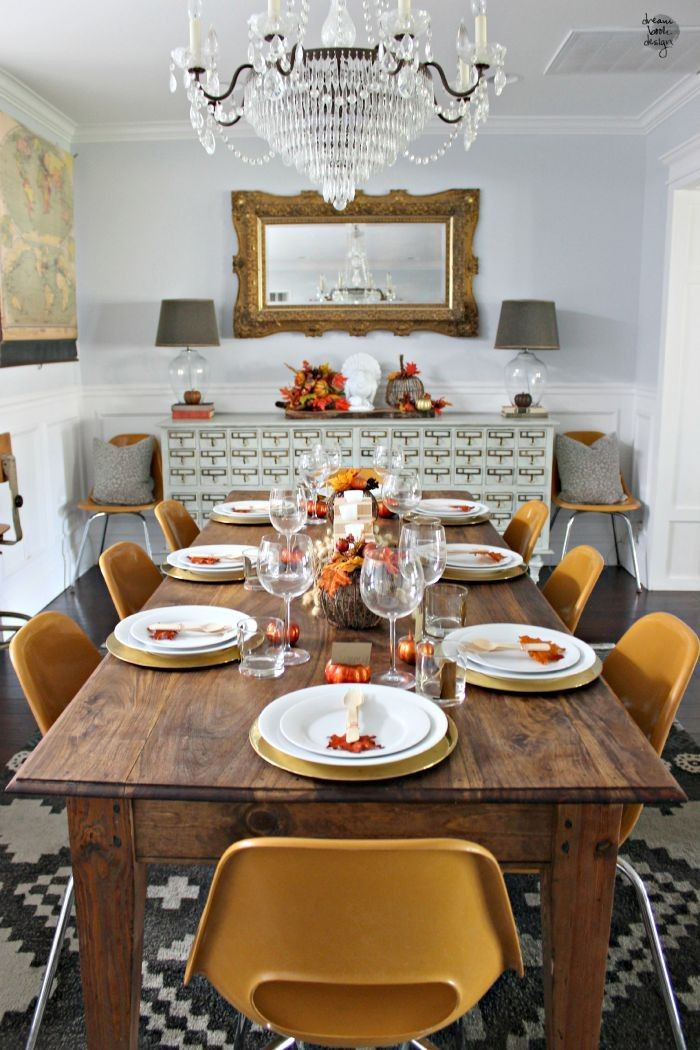28 Simple Dining Room Ideas For A Stunning Inspiration: 28 Thanksgiving Centerpieces That Will Make You Forget
