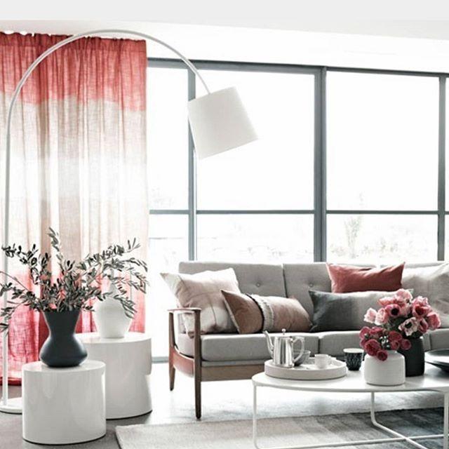 #outubrorosa #sala #detalhesrosa #cortinarosa #decorandocomrosa