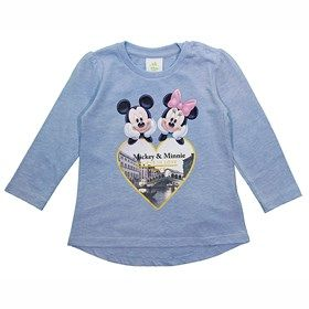 Blouse Mickey & Minnie Mouse Winter Collection 2016-17 by Alouette