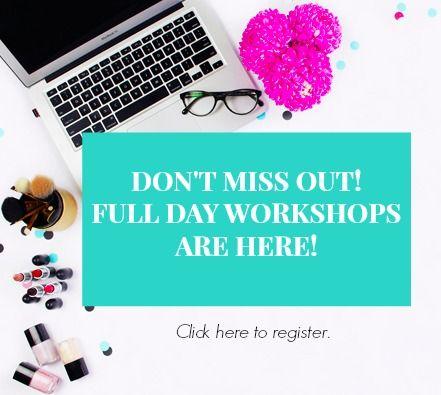 Blogging workshops