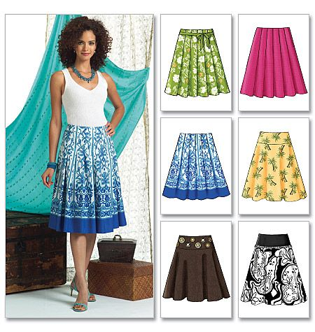 60 Best Patterns Skirts Images On Pinterest Skirts Sewing Ideas