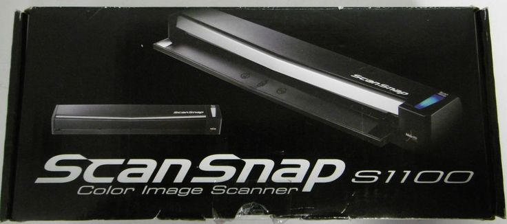 FUJITSU SCANSNAP F1 - S1100 COLOR IMAGE SCANNER PA03610-B205 600 DPI NEW IN BOX #Fujitsu