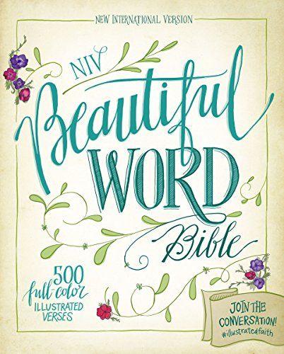 NIV Beautiful Word Bible by Zondervan http://www.amazon.com/dp/0310444268/ref=cm_sw_r_pi_dp_D2wcwb13MNSYX