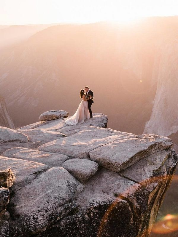 20 Dreamy Mountain Wedding ceremony Picture Concepts