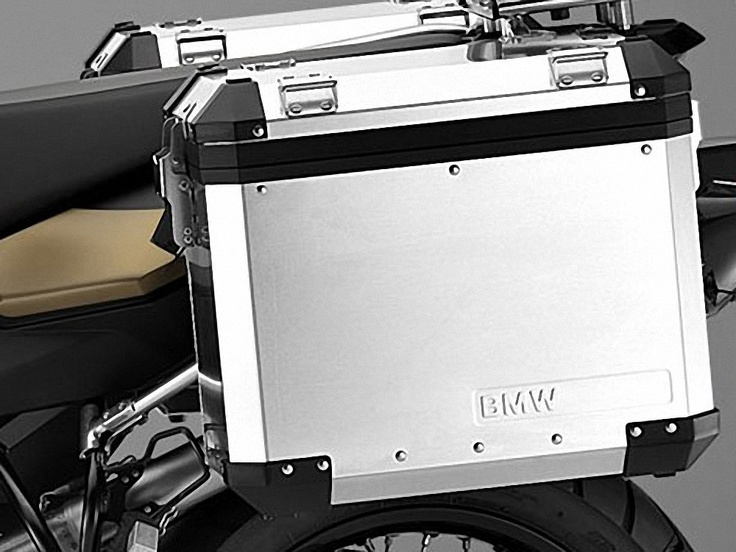 BMW: panniers set - Aluminium-Cases for BMW F800GS, F700GS and F650GS (twin)