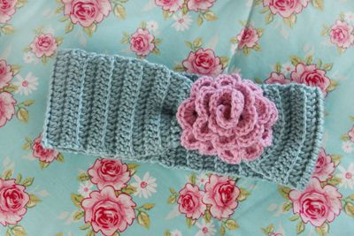 King & majkis: Easy crochet headbands. With patterns.