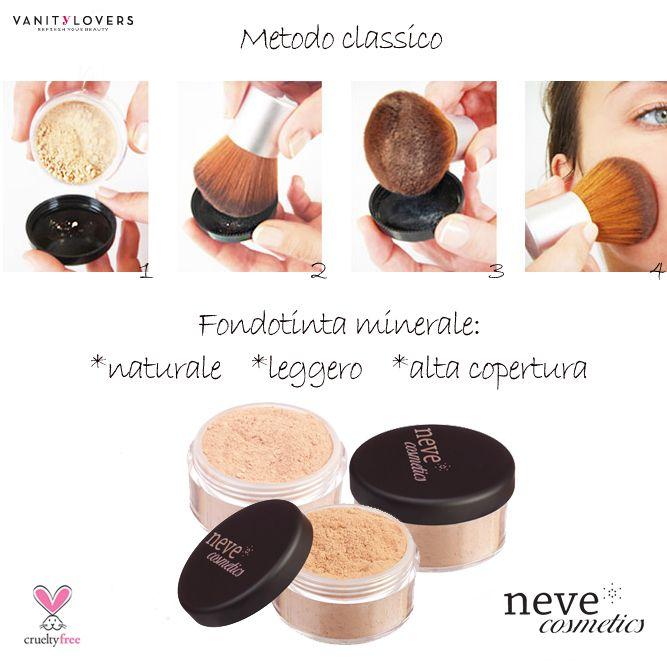 Fondotinta Neve Cosmetcis http://www.vanitylovers.com/prodotti-make-up-viso/fondotinta.html?utm_source=pinterest.comutm_medium=postutm_content=fondotintautm_campaign=pin-vanity