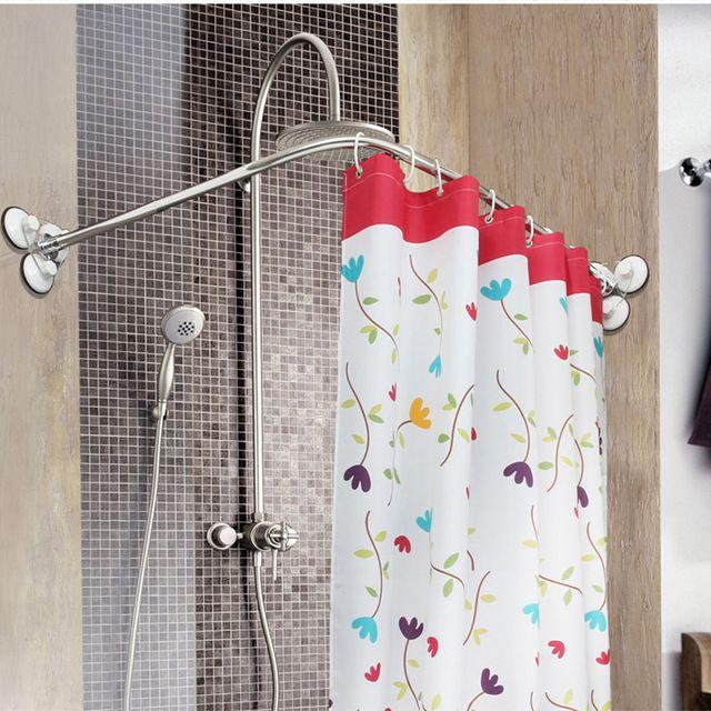 Best 25+ Curved Curtain Pole Ideas On Pinterest | Curtain Rod Canopy, Shower  Curtains And Curved Curtain Rod