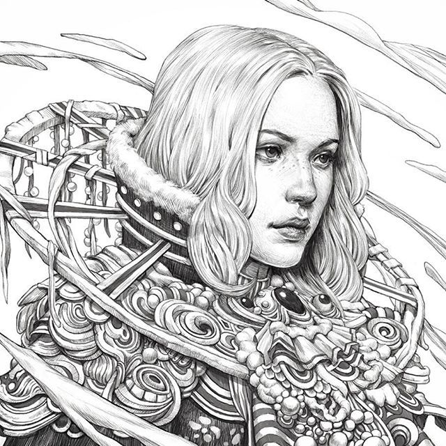 Image Result For Fantasia Coloring Book By Nicholas F Chandrawienata
