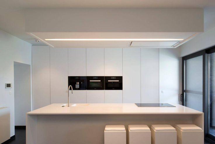 25 beste idee n over open keukens op pinterest open for Witte keukenstoelen